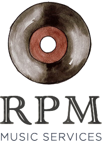 RPM Music Services  |  A Full Service Music Agency Logo